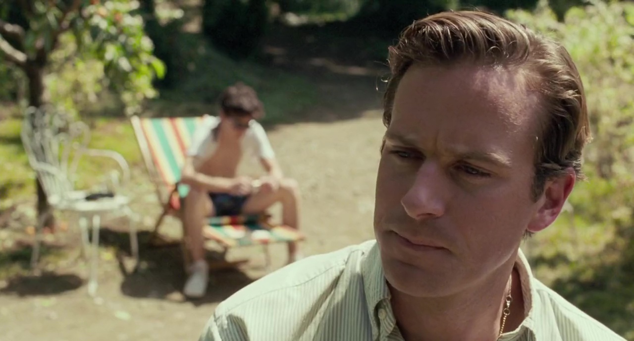 Timothy Chalet Armie Hammer Chiamami col tuo nome Call me by your Name