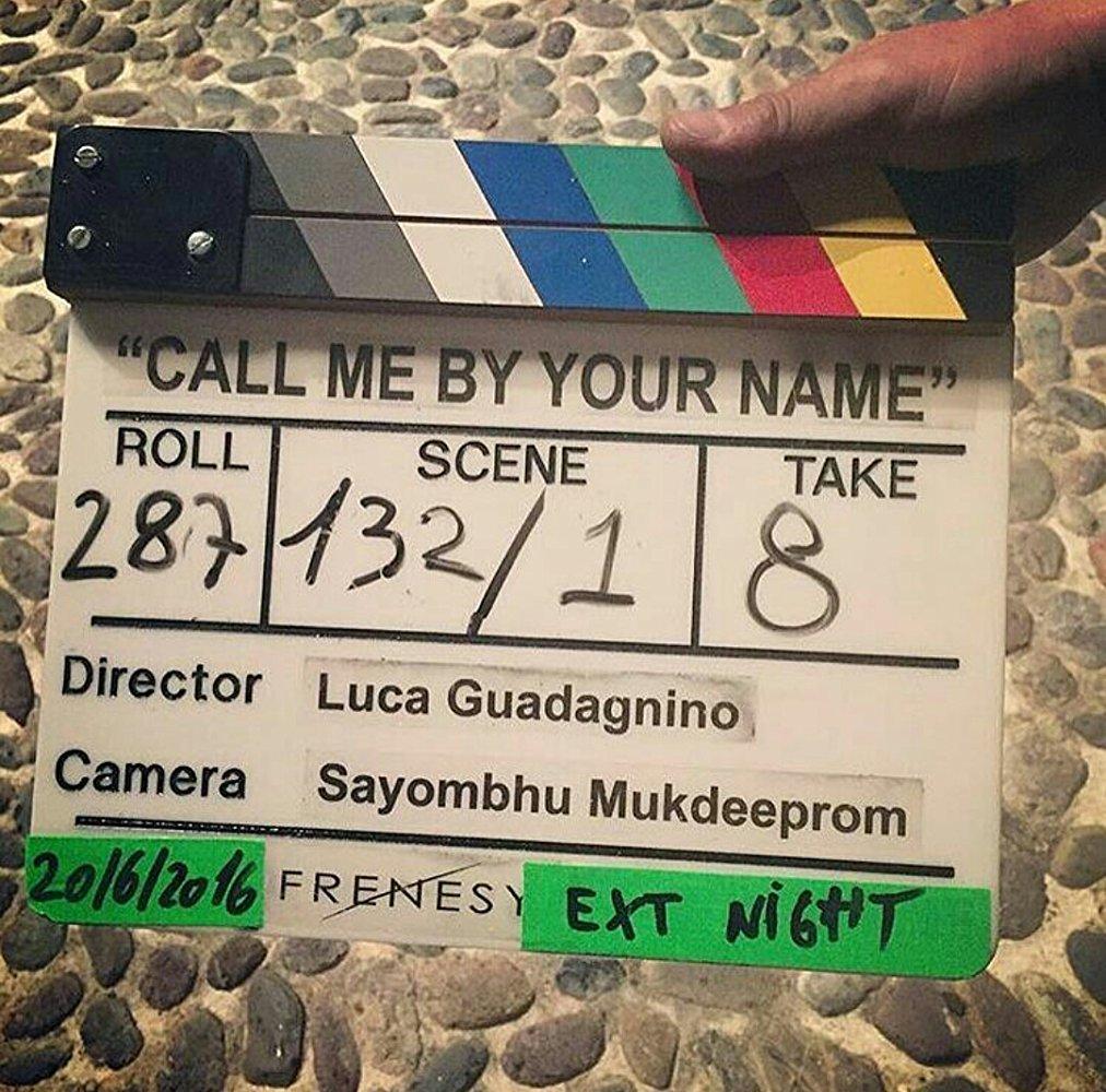 Chiamami col tuo nome - backstage