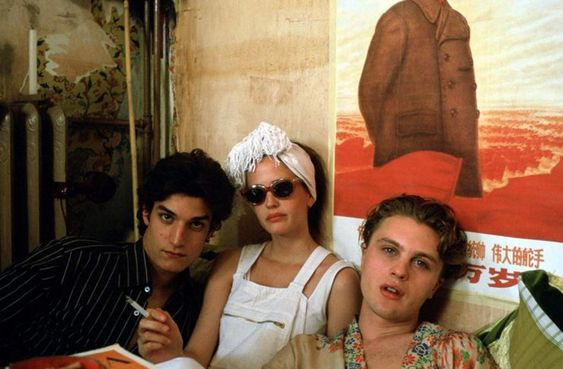 Isabelle, Matthew e Théo